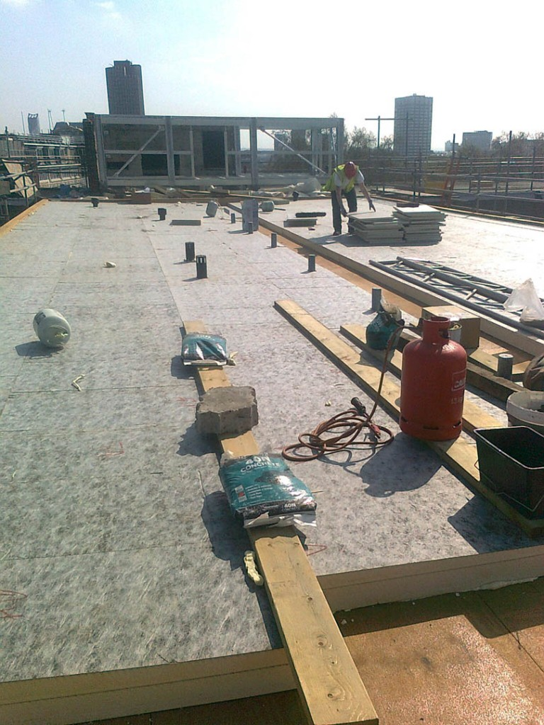 Apex Hotel Tapered Warm Roof Project 187 Beton